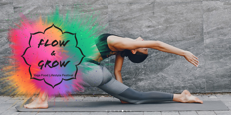 "Yoga-Lifestyle-Festival ""Flow and Grow"""