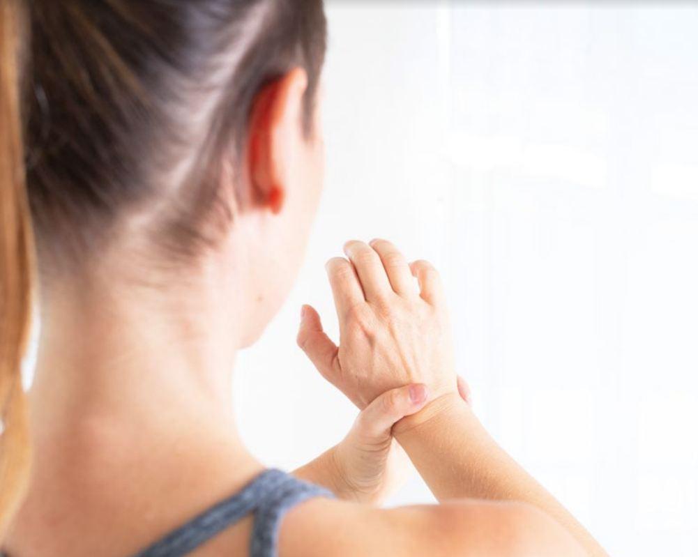 Übung für eingeklemmte Handnerven