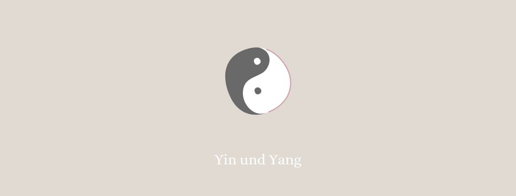 Yoga Symbole Yin und Yang