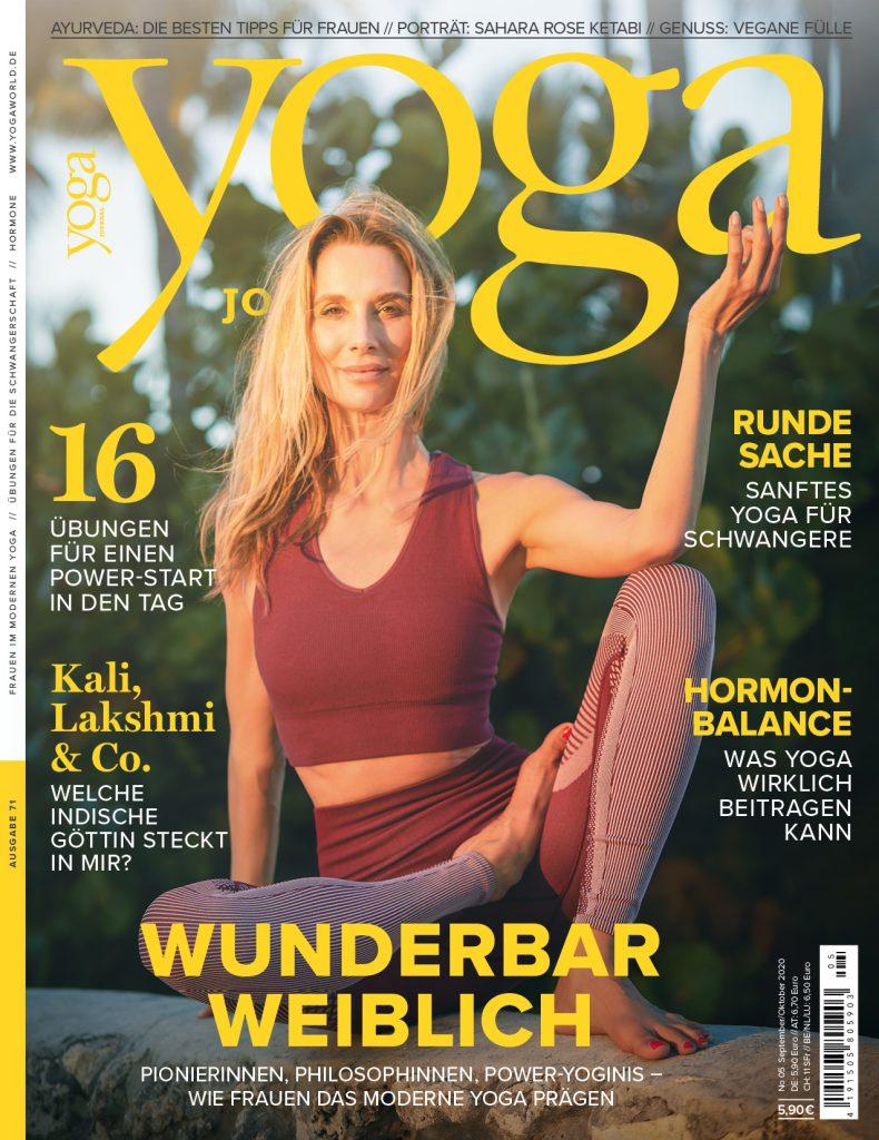 Yoga Journal Cover Nela König
