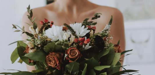 Blumen Frau der erste Eindruck