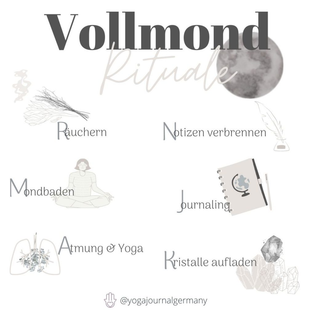 Vollmond Rituale
