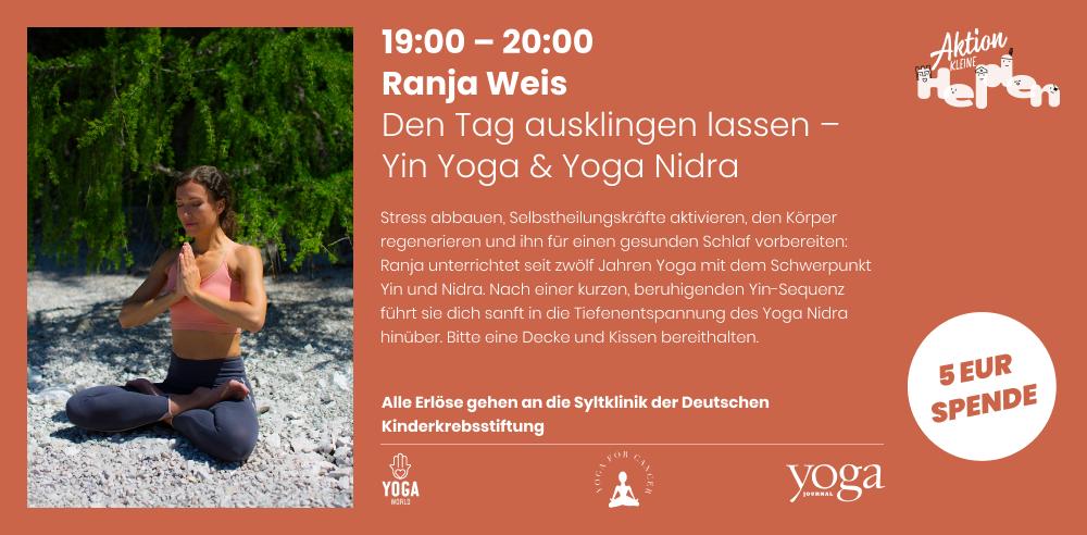 Yoga Weltkinderkrebstag