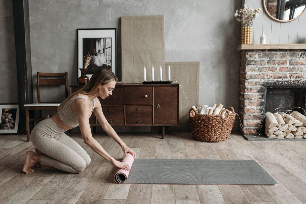 Yoga zuhause üben