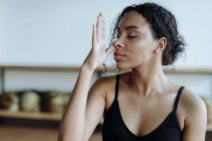 Atmung Yoga