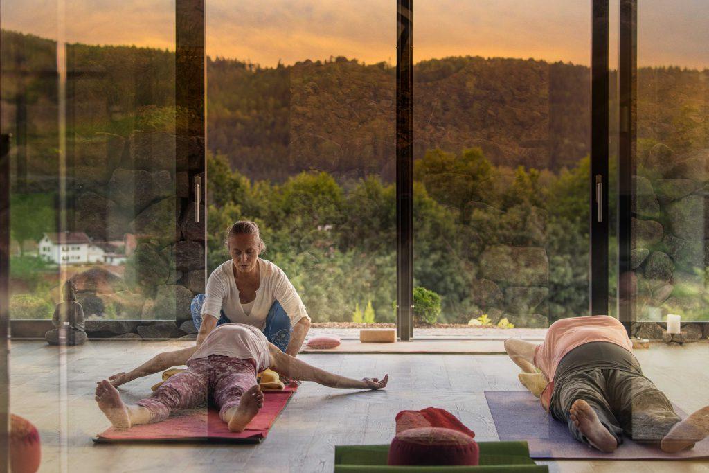 Yoga Urlaub Bayerischer Wald Hotel Lindenwirt