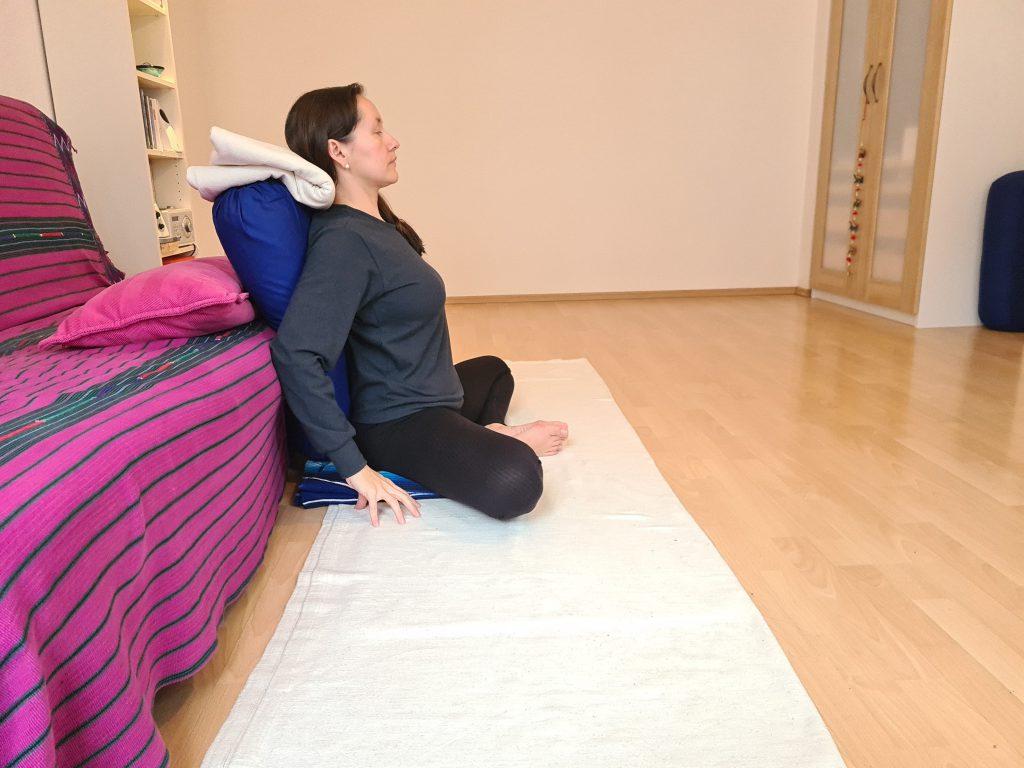 Yoga bei Long Covid Baddha Konasana
