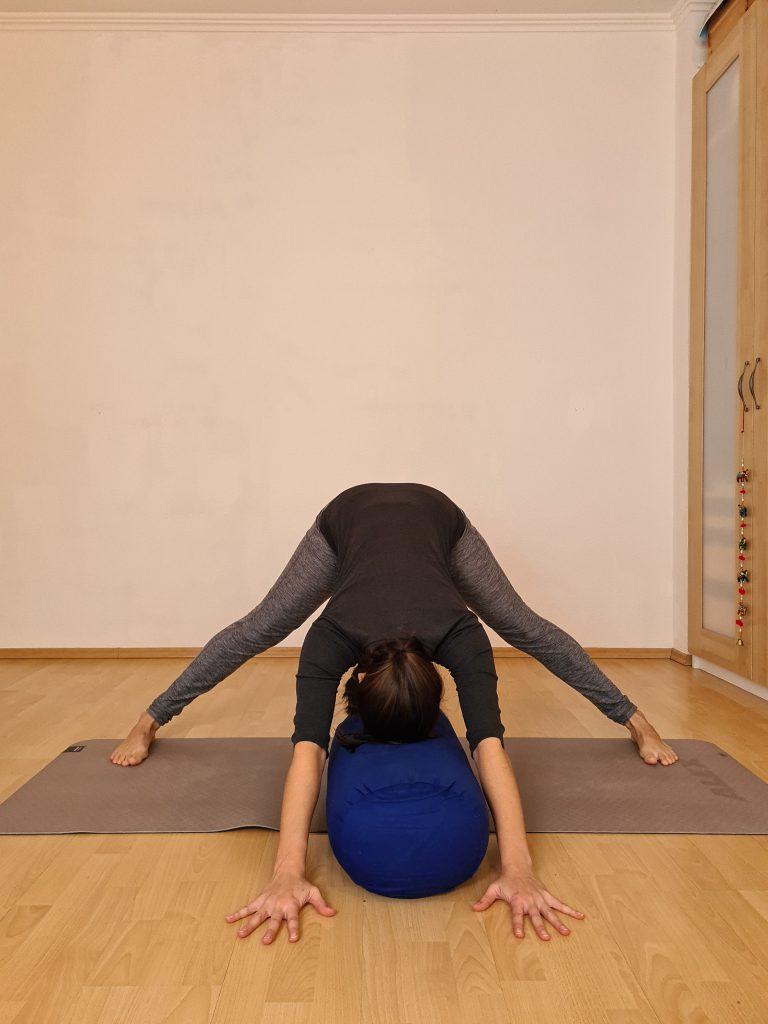 Yoga bei Long Covid Prasarita Padotanasana