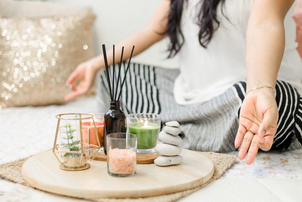 Achtsamkeit Yoga Hier und Jetzt
